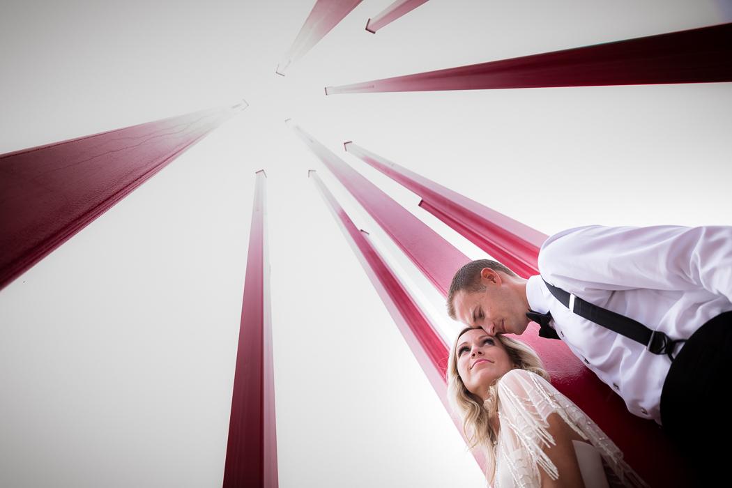 wedding portrait bride groom Artivity on the Green Winston-Salem, NC