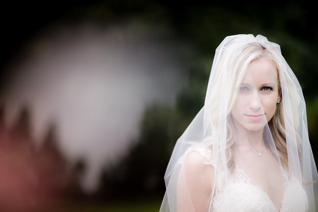 Bridal Portrait Old Salem, NC